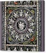 Dashavtar B/w 1  Canvas Print