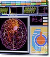 Data Capture, Sudbury Neutrino Canvas Print