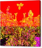 Datura Bird Canvas Print