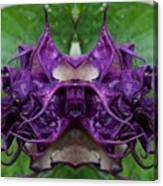 Datura Flower Canvas Print