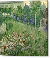 Daubigny's Garden Canvas Print