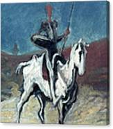 Daumier: Quixote, 19th C Canvas Print