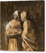 Daumier: Virgin & Child Canvas Print