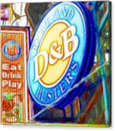 Dave And Buster's Canvas Print