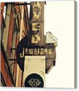 Daved Jewelers  Canvas Print