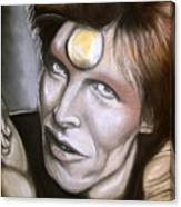 David Bowie As Ziggy Stardust Canvas Print