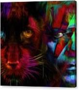 David Bowie - Cat People  Canvas Print