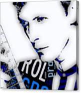 David Bowie Ground Control To Major Tom Canvas Print