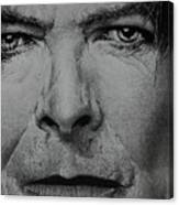 David Bowie - Eyes Of The Starman Canvas Print
