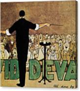 David Devant Poster C1910 Canvas Print
