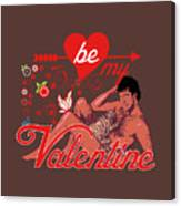 David Hasselhoff Valentine' Day Canvas Print