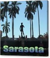 David In Sarasota Canvas Print
