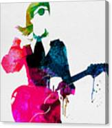 David Watercolor Canvas Print