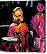 David Wingo On Stage Canvas Print