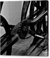 Davinci Bike Chain Canvas Print
