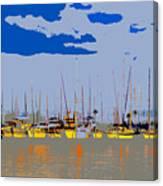 Davis Island Yachts Canvas Print