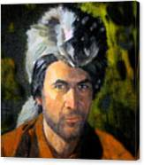 Davy Crockett Canvas Print