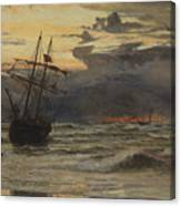 Dawn After The Storm Canvas Print