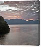 Dawn At Casa De Mundo Lake Atitlan 1 Canvas Print