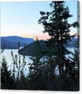 Dawn At Copper Island Canvas Print