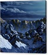 Dawn At Eagle's Peak Canvas Print