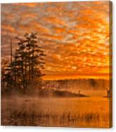 Dawn At Oakfield Provincial Park Canvas Print