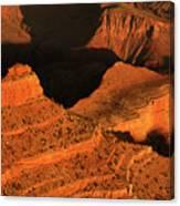 Dawn At The Grand Canyon Canvas Print