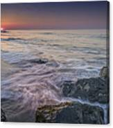 Dawn Breaks At Cape May Canvas Print