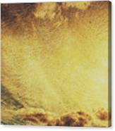 Dawn Of A New Day Texture Canvas Print