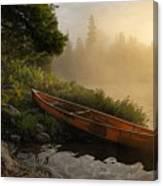 Dawn On Boot Lake Canvas Print