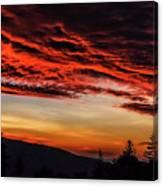 Dawn Over Big Spruce Knob Canvas Print