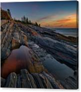 Dawn Over Pemaquid Point Canvas Print