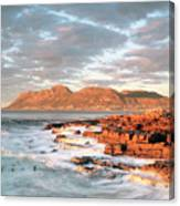 Dawn Over Simons Town South Africa Canvas Print