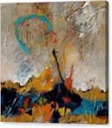 Dawn Vibrations Canvas Print