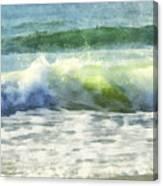 Dawn Wave Canvas Print