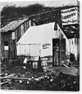 Dawson City, C1900 Canvas Print