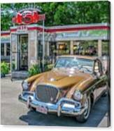 Day At The Diner Canvas Print