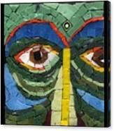 Day Dreamer - Fantasy Face No. 8 Canvas Print