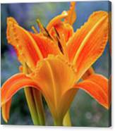 Day Lily Bright Canvas Print