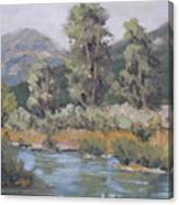 Day On The Yampa Canvas Print