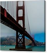 Daybreak At The Golden Gate Canvas Print