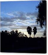 Daybreak In Florida Canvas Print