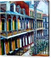 Daybreak On St. Ann Street Canvas Print