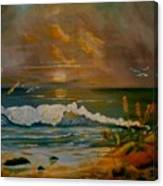Daybreak On The Dunes Canvas Print