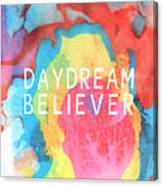 Daydream Believer- Abstract Art By Linda Woods Canvas Print