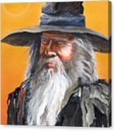 Daydream Wizard Canvas Print