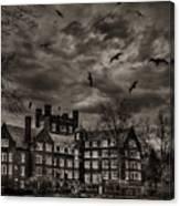 Daydreams Darken Into Nightmares Canvas Print