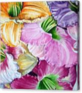 Daylillies Canvas Print