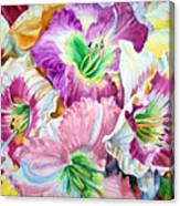 Daylilliesll Canvas Print