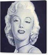days of glory for MARILYN Canvas Print